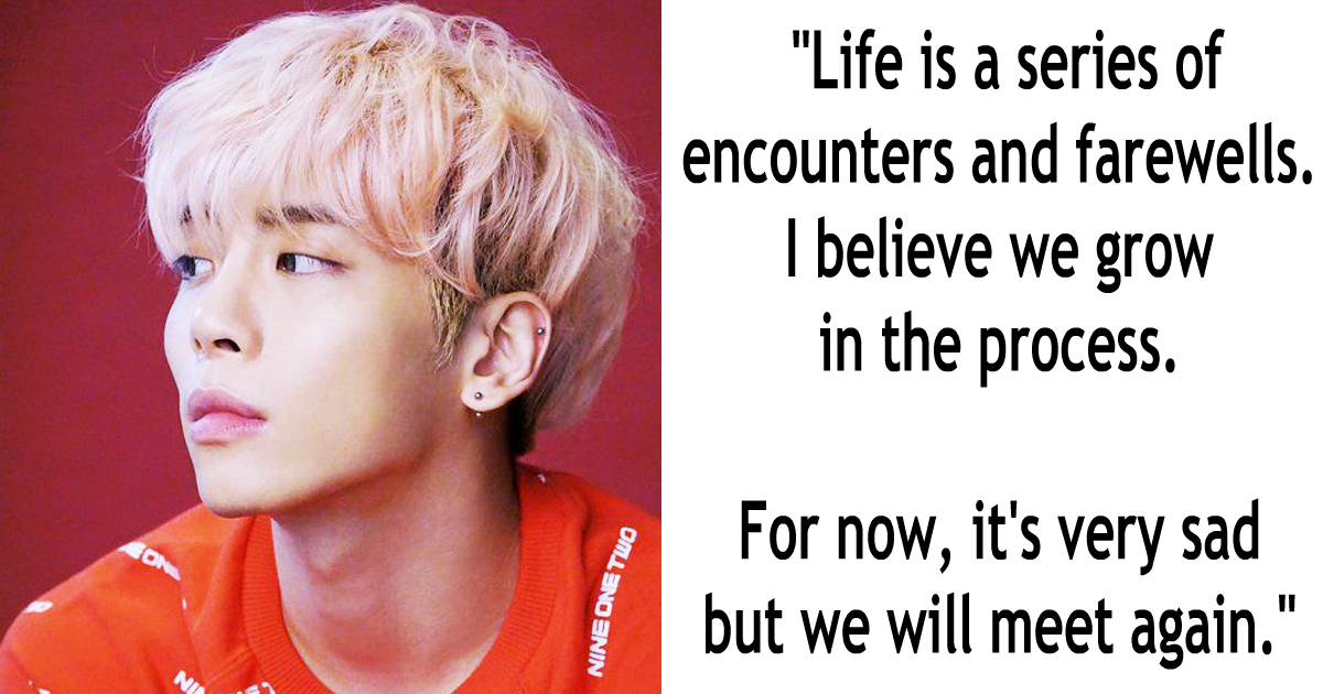 inspiring and moving quotes by shinee jonghyun koreaboo