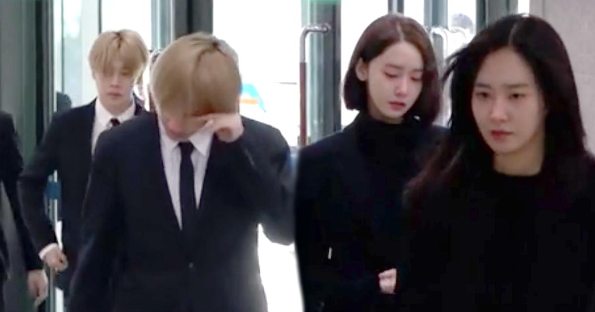 Here S Every K Pop Idol At Jonghyun S Memorial Service Now